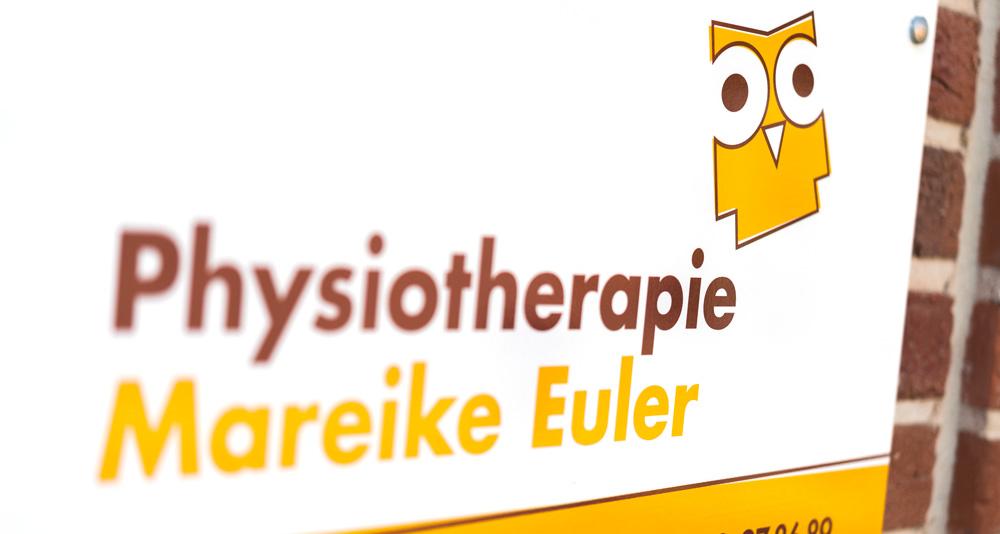 Physiotherpapie Mareike Euler - Eingangsschild