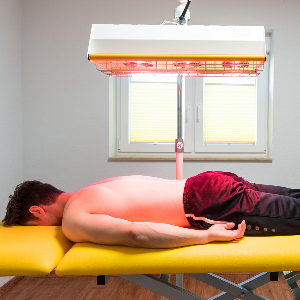 Physikalische Therapie - Beispielbild