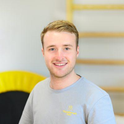 Physiotherapeut Tobias Klimek